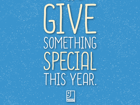 Give Something Special This Year