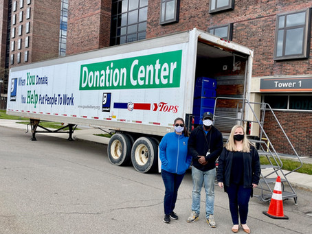 Buffalo State College Partners with Goodwill on Campus Move Out