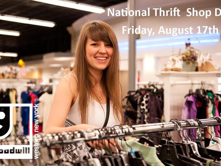 Goodwill Celebrates National Thrift Shop Day
