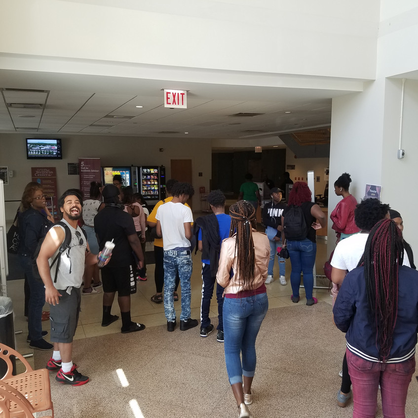 Upward Bound summer school - college visit