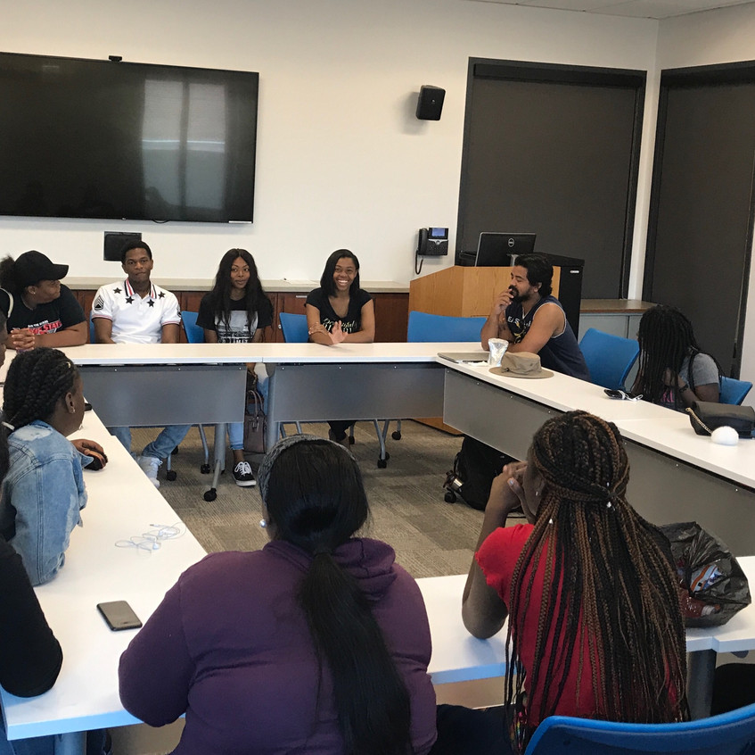 Upward bound summer school - college student panel