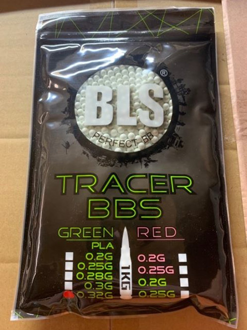 TRACER 0.32 PRECISION BLS BBS 1KG (White/GREEN) NEW PRODUCT