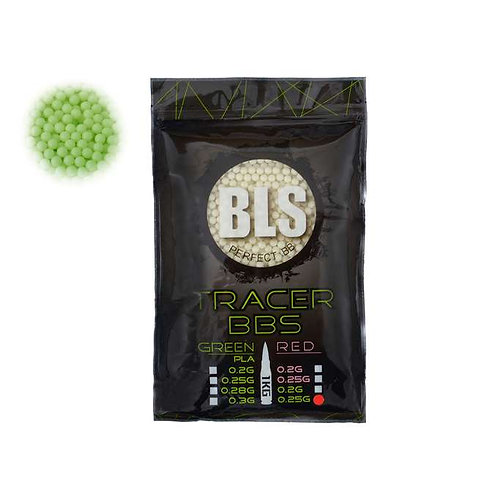 TRACER 0.25 PRECISION BLS BBS 1KG (White/GREEN)