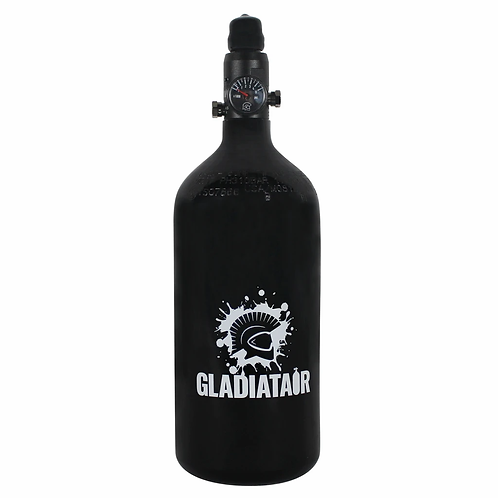 48ci Aluminium Paintball Cylinder with Gladiatair Regulator