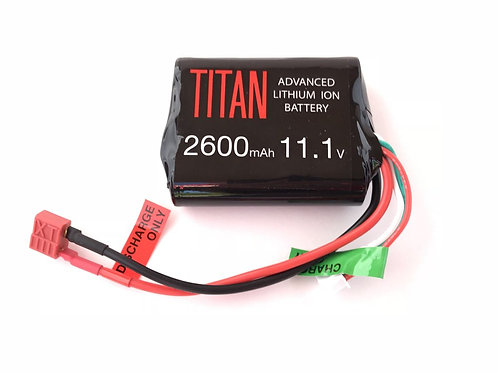 TITAN POWER 2600mAh 11.1v BRICK (DEANS)