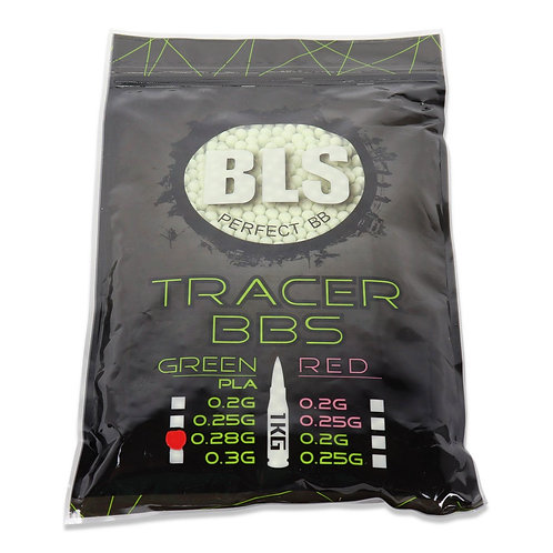 TRACER 0.28 PRECISION BLS BBS 1KG (White/GREEN)