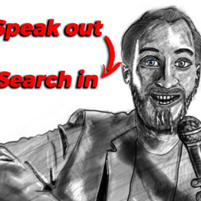 Stand-up comedy: Speaking out & Searching in