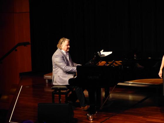 "Martin Johnson, Gastauftritt ""20 Jahre Junger Kammerchor Böblingen"""
