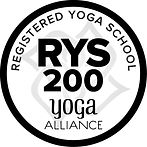 RYS 200 hour yoga logo