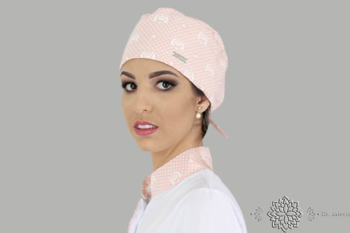 Touca de Amarrar Royal Pink