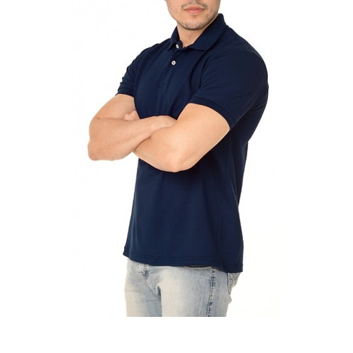 Polo Masculina Lisa