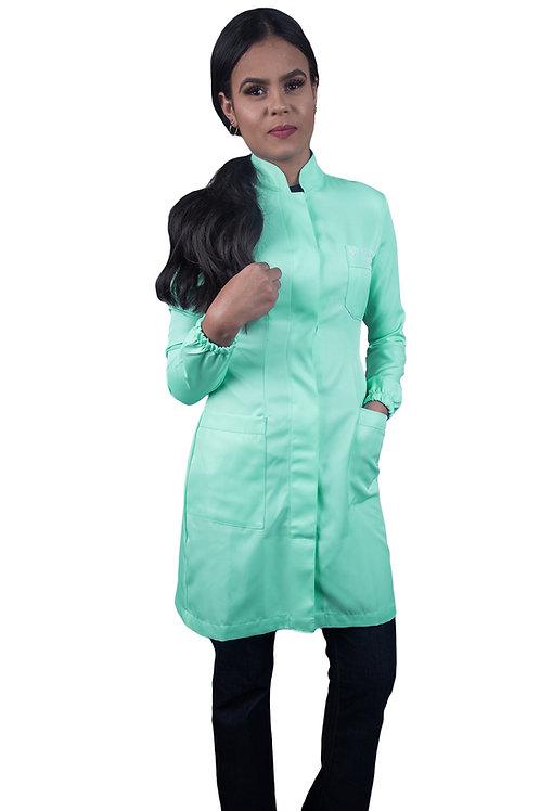 Jaleco Citrino Feminino Verde Bebê