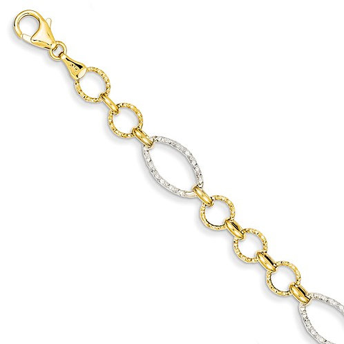 YG Bracelet 14kt
