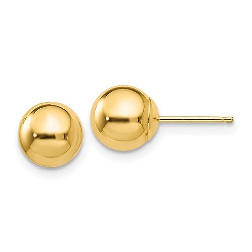 YG Earrings Stud Ball