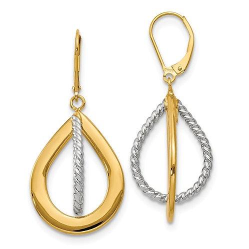 YGWG Earrings Hoop 10kt