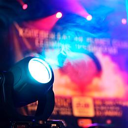 Lyd lys utleie trondheim trøndelag pa scene laser