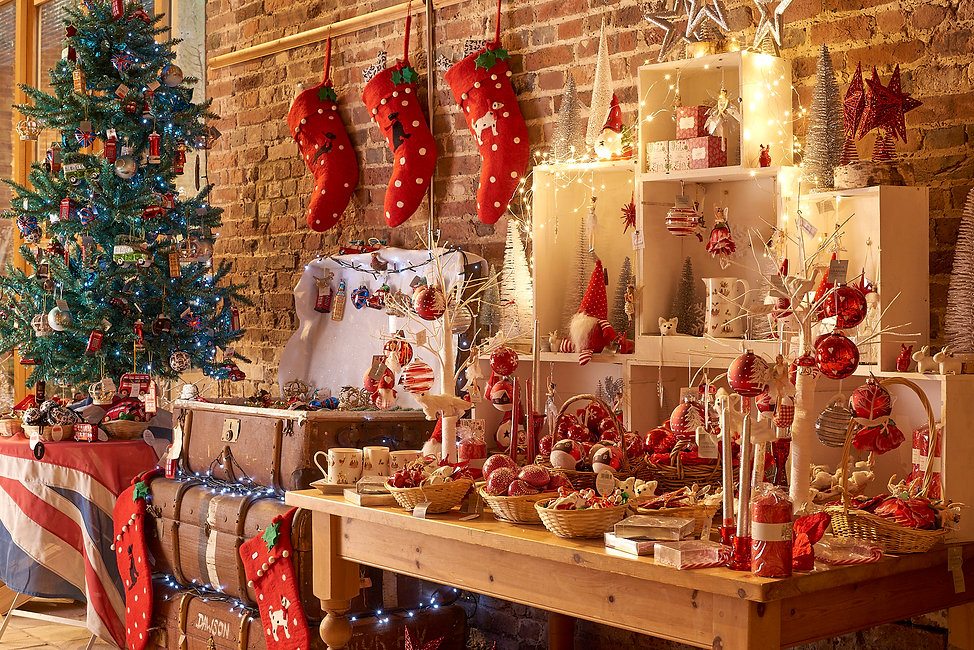 Sussex Christms Barn opens 4th November 2020