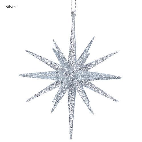 Silver Bethlehem Star