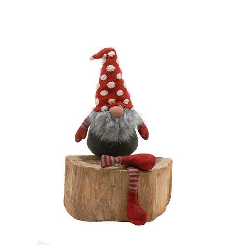 Spotty Hat Dangly Leg Gonk 60cm