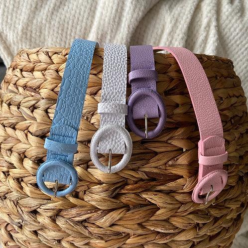 Cinturón Pastel