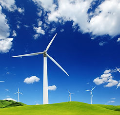bigstock-Wind-turbines-landscape--165649