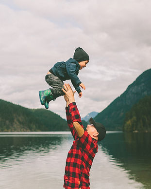travel-lake-playing-hiking-son-mountains