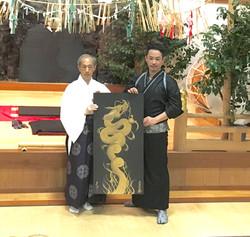 宮崎県『高千穂神社』にて