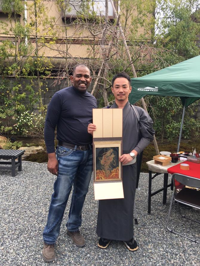 晴天の京都嵐山・・風がくれた不思議なご縁・・