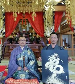 太平寺へ奉納