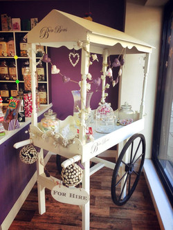 Our Candy Cart, Available to hire!