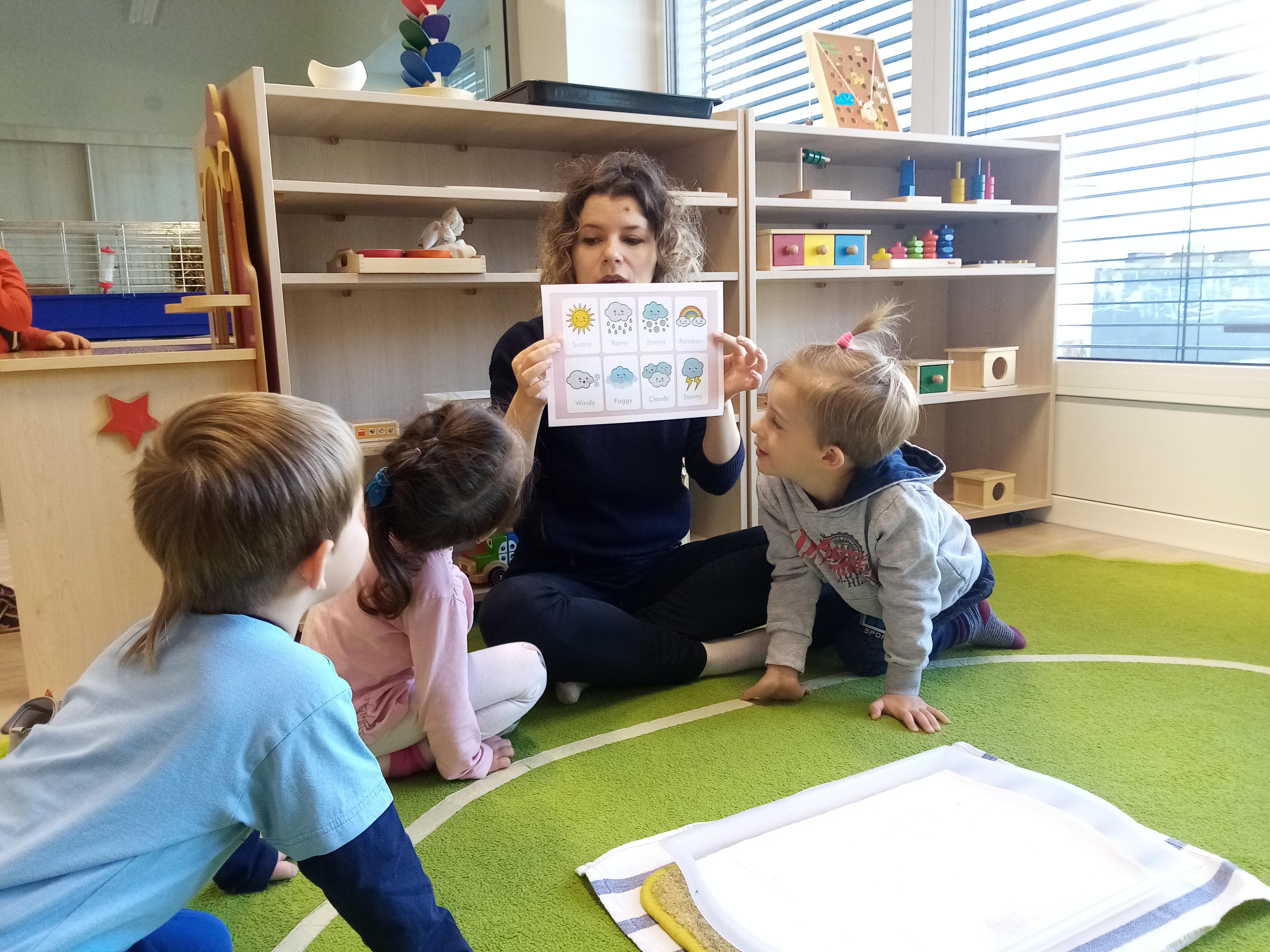 Montessori dílničky - lekce