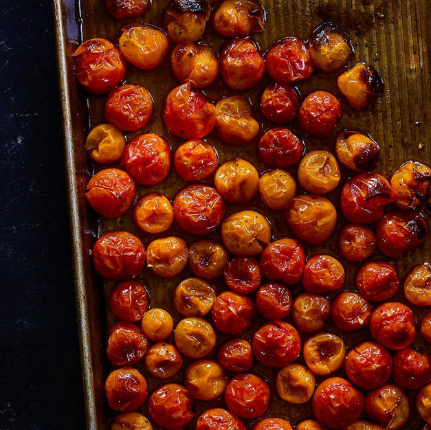 Roasted Sheetpan Cherry Tomatoes
