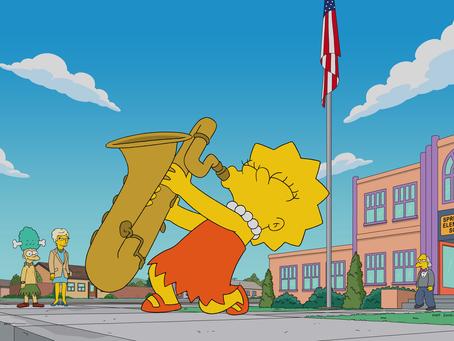 Análise do desenho Simpsons - Caipira Cantores