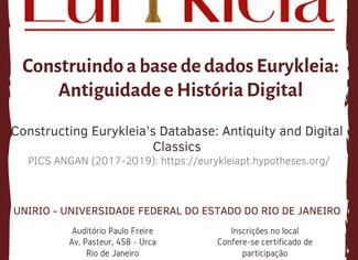 """International Colloquium """"Constructing Eurykleia's Database: Antiquity and Digital Classics&quo"""