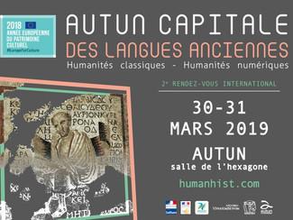 Autun capitale des langues anciennes - 30-31/03/2019, Autun (France)