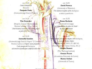 L'Asclepius: una nuova edizione - 17/12/2020, Online (MS Teams)