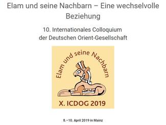 Elam und seine Nachbarn – Eine wechselvolle Beziehung - 08-09-10/04/2019, Mainz (Germany)