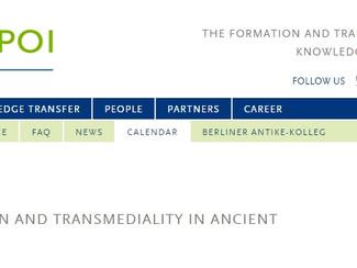 "CALL. 01.03.2016: Postgraduate Interdisciplinary Workshop ""Into new frames. De-contextualisation and"