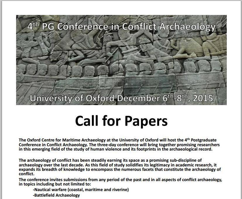 CFP Conflict Archaelogy Oxford 2015.jpg