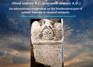 CALL. 31.12.2019: Cappadocia and Cappadocians in the Hellenistic, Roman and early Byzantine periods