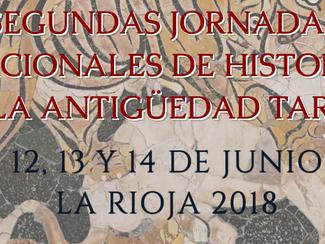 Segundas Jornadas Nacionales de Historia de la Antigüedad Tardia - 12-13-14/06/2018, La Rioja (Argen