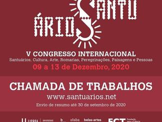 V Santuários, Cultura, Arte, Romarias, Peregrinações, Paisagens e Pessoas - 09-13/12/2020, Online