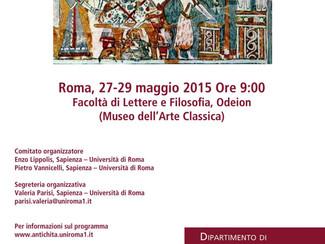 Il sacrificio. Forme rituali, linguaggi e strutture sociali - 27-28-29/05/2015, Roma (Italy)