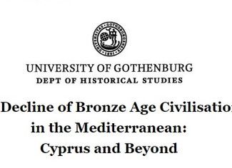 The Decline of Bronze Age Civilisations in the Mediterranean: Cyprus and Beyond - 17-18/01/2020, Got