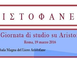 ARISTOFANEIA VI Giornata di studio su Aristofane -19/03/2016, Roma (Italy)