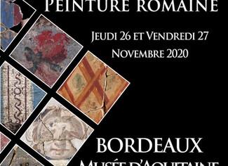 33eme Colloque de l'Association Française pour la Peinture Murale Antique - 26-27/11/2020, Borde