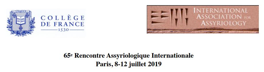 Le meilleur: rencontre assyriologique internationale 2019