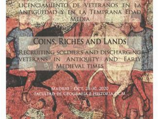 Monedas, riquezas y tierras - POSPUESTO: 2021