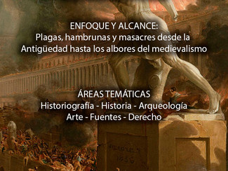 Congreso Nacional Virtual de la Antigüedad Tardía: Plagas, hambrunas y masacres desde la Antigüedad