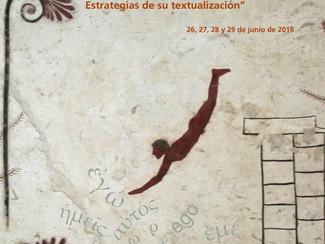 VIII Coloquio Internacional Cartografías del yo en el Mundo Antiguo. Estrategias de su textualizació
